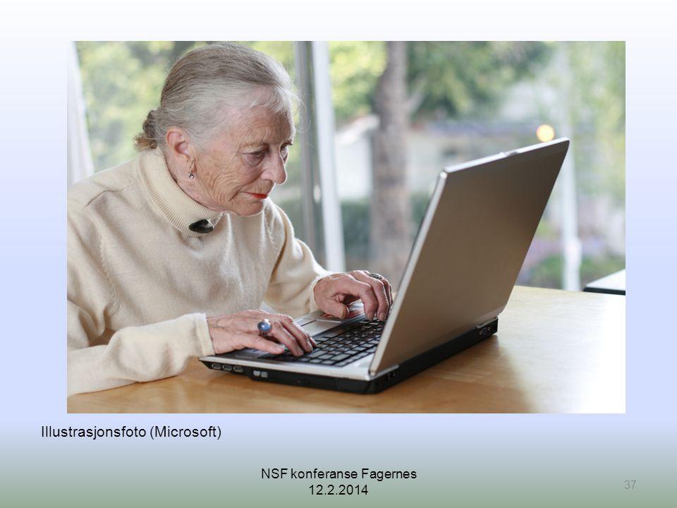Illustrasjonsfoto (Microsoft) 37 NSF konferanse Fagernes 12.2.2014