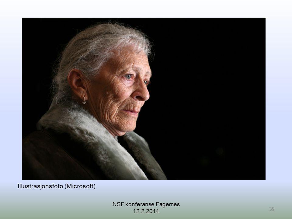 Illustrasjonsfoto (Microsoft) 39 NSF konferanse Fagernes 12.2.2014
