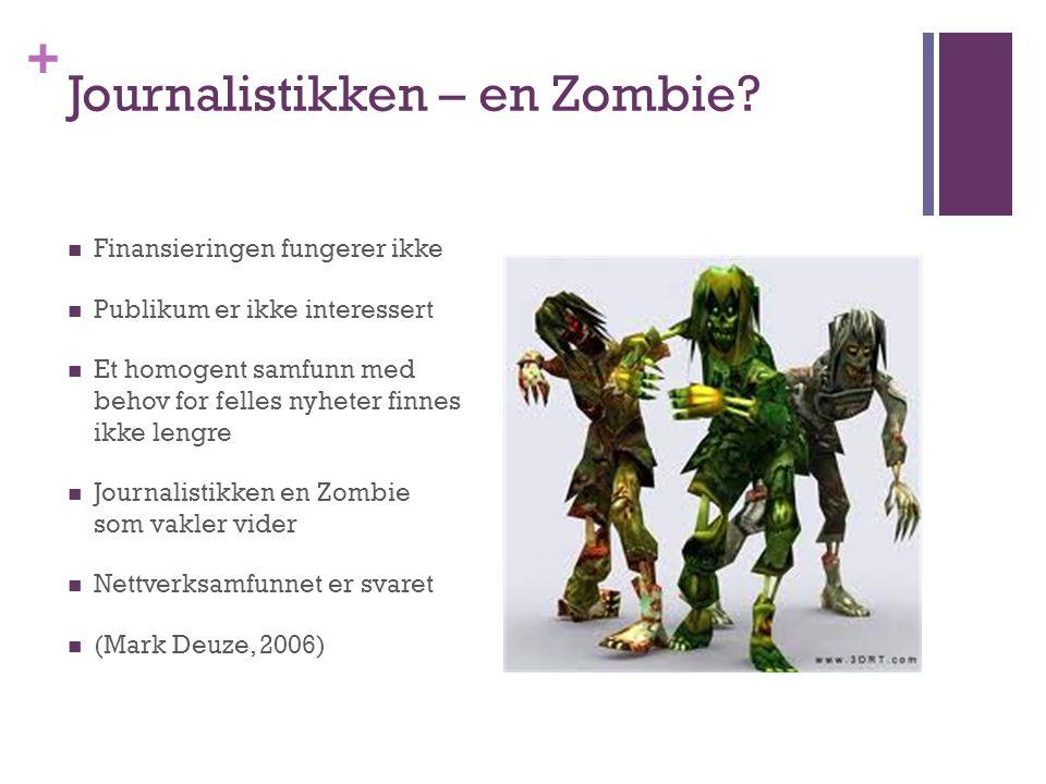 + Journalistikken – en Zombie.