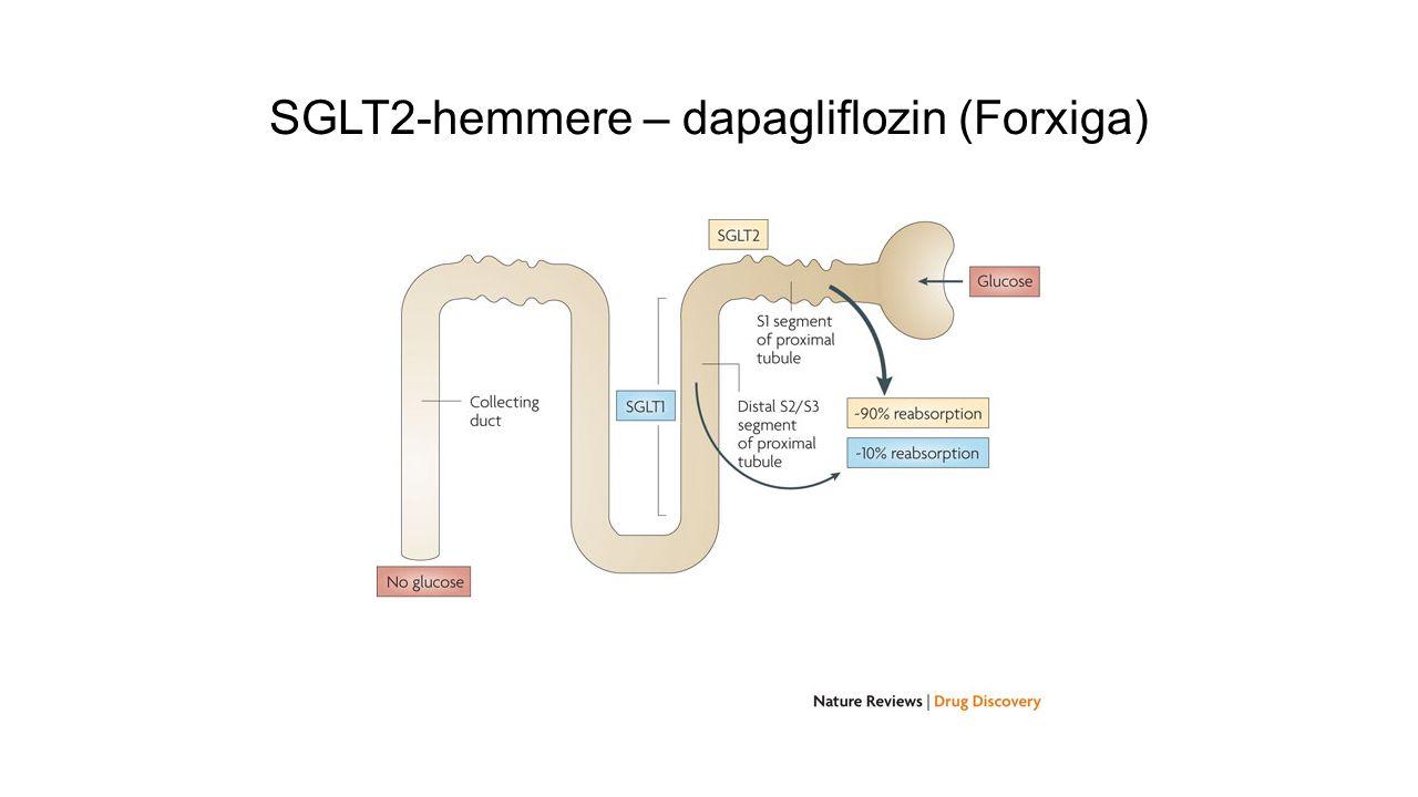 SGLT2-hemmere – dapagliflozin (Forxiga)