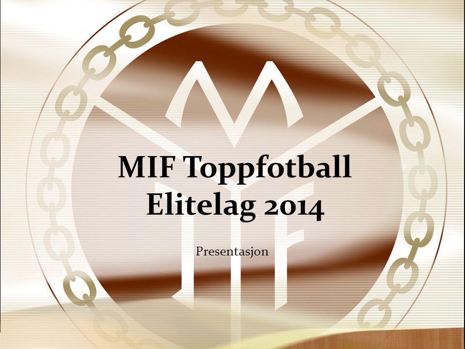 MIF Toppfotball Elitelag 2014 Presentasjon