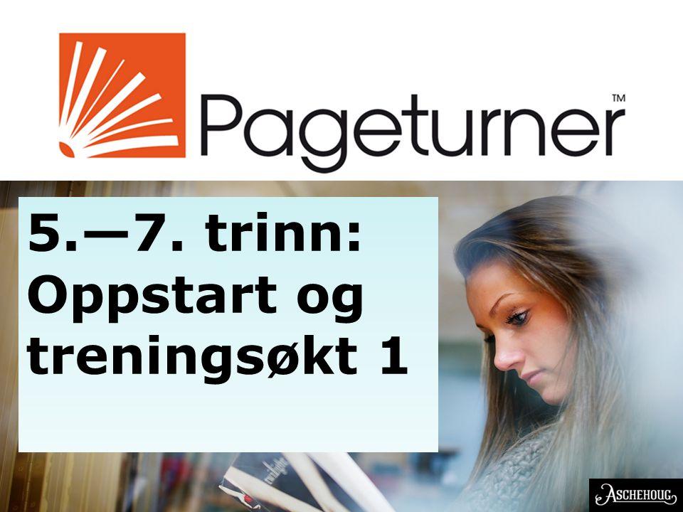 EN NORSK OPPFINNELSE 5.—7. trinn: Oppstart og treningsøkt 1