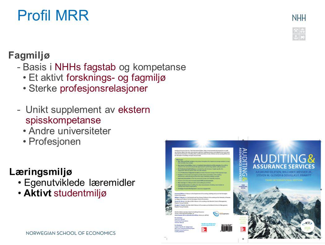 Hva kjennetegner MRR.
