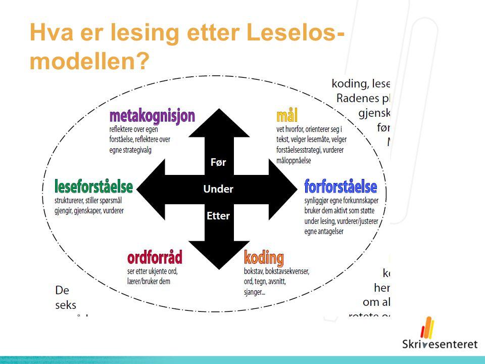 Hva er lesing etter Leselos- modellen?