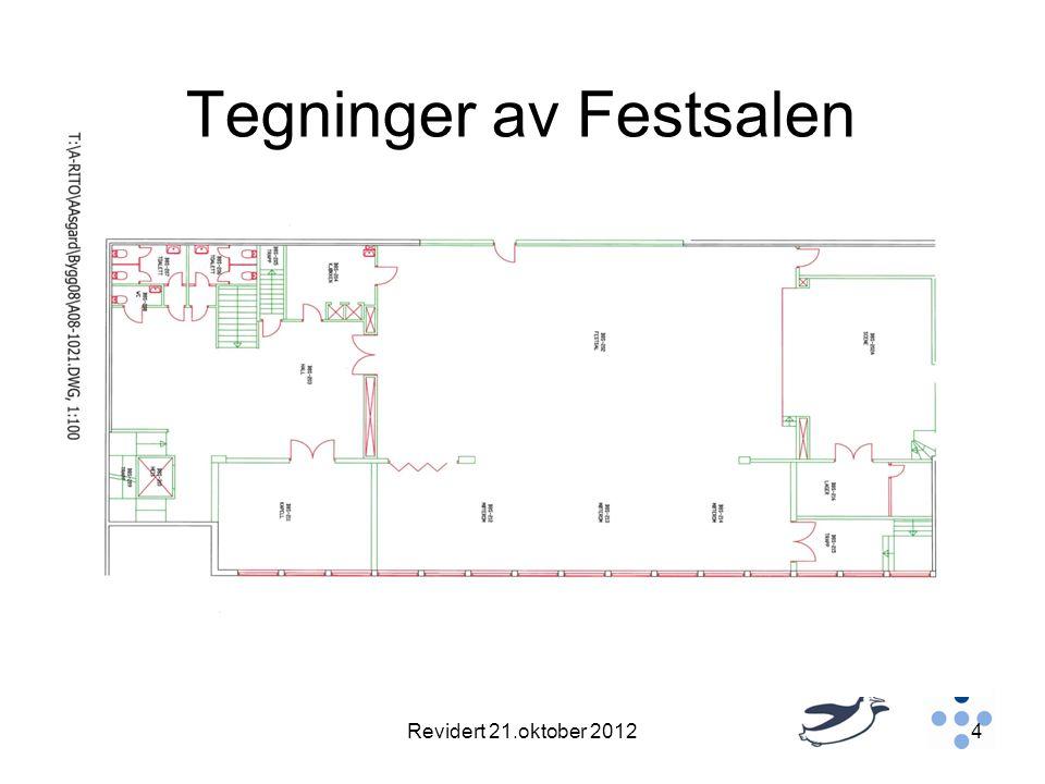 Tegninger av Festsalen Revidert 21.oktober 20124