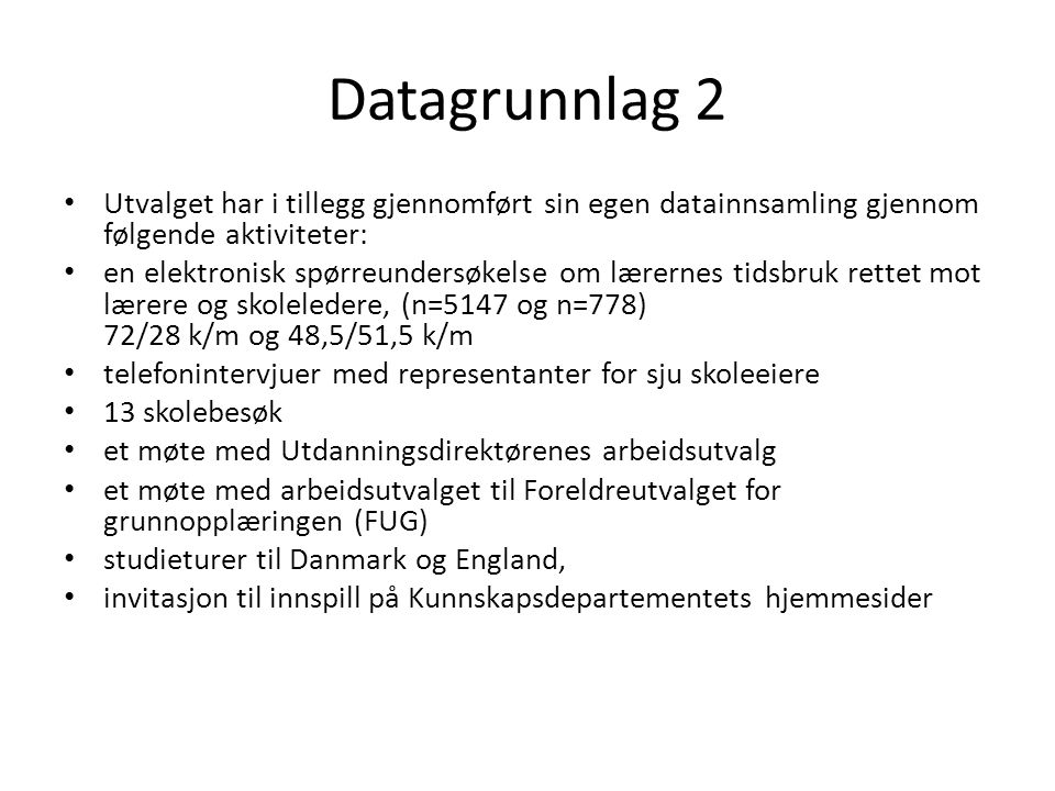 Kunnskapssenteret skal … • … sammenstille og formidle resultater fra norsk og internasjonal utdanningsforskning.