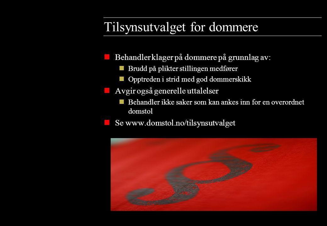 Administrasjonen av domstolene nDomstoladministrasjonen ligger i Trondheim.
