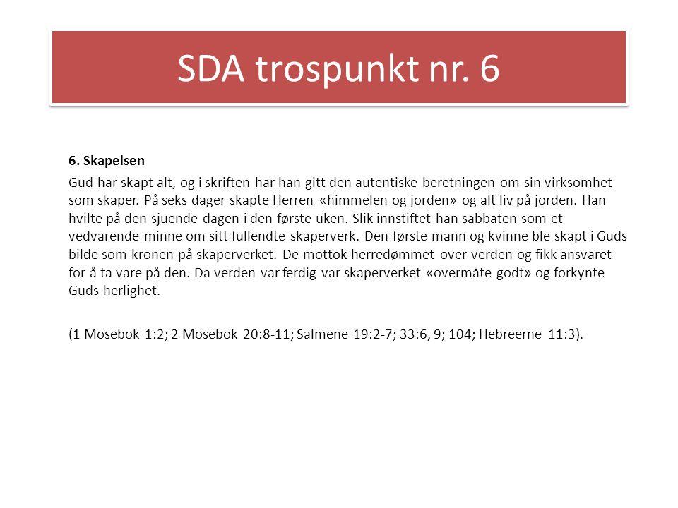 SDA trospunkt nr.19 19.