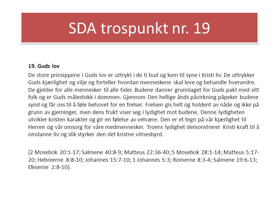 SDA trospunkt nr.20 20.