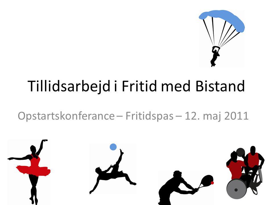 Tillidsarbejd i Fritid med Bistand Opstartskonferance – Fritidspas – 12. maj 2011