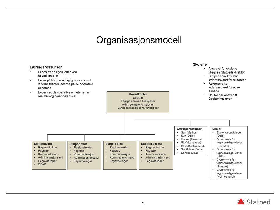 Organisasjonsmodell 4