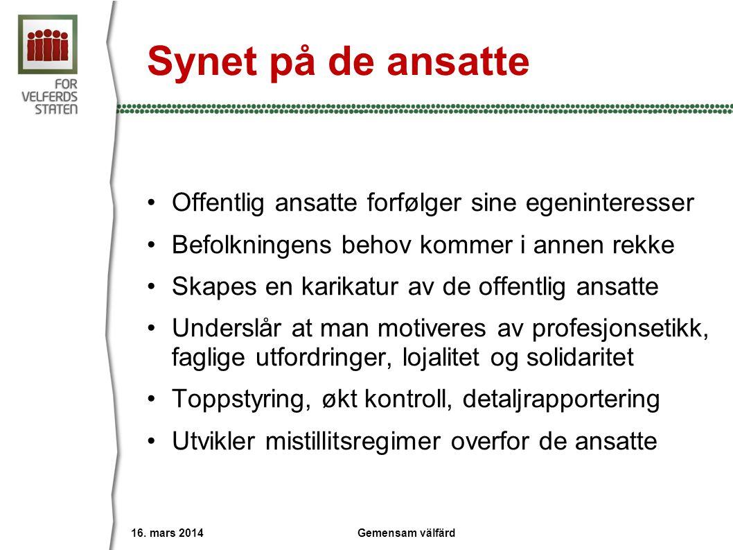 Primært et politisk prosjekt •Hva gikk galt i Sverige ved valget i 2010.