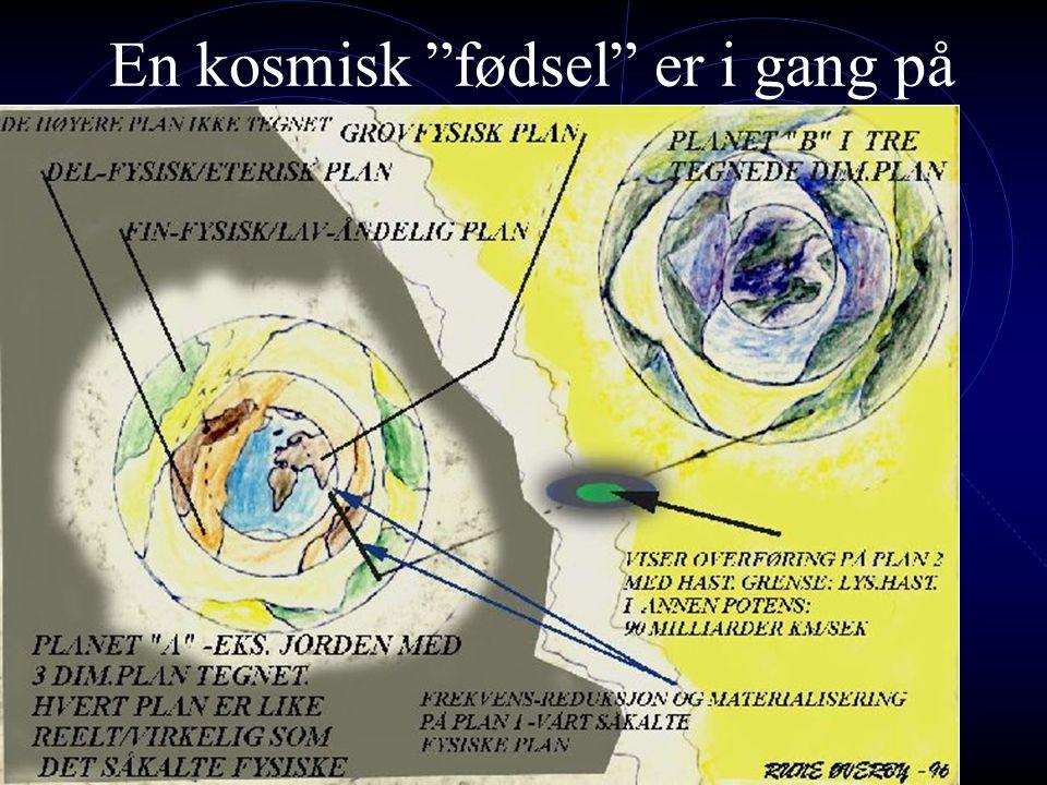 En kosmisk fødsel er i gang på jorden nå – oppvåkning…