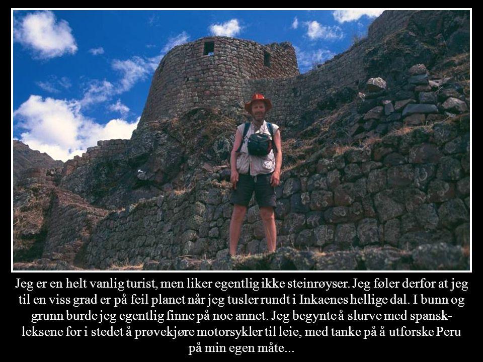 Jeg er en helt vanlig turist, men liker egentlig ikke steinrøyser. Jeg føler derfor at jeg til en viss grad er på feil planet når jeg tusler rundt i I