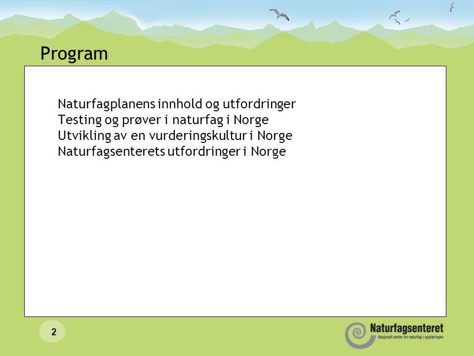 Nasjonale prøver i naturfag…...