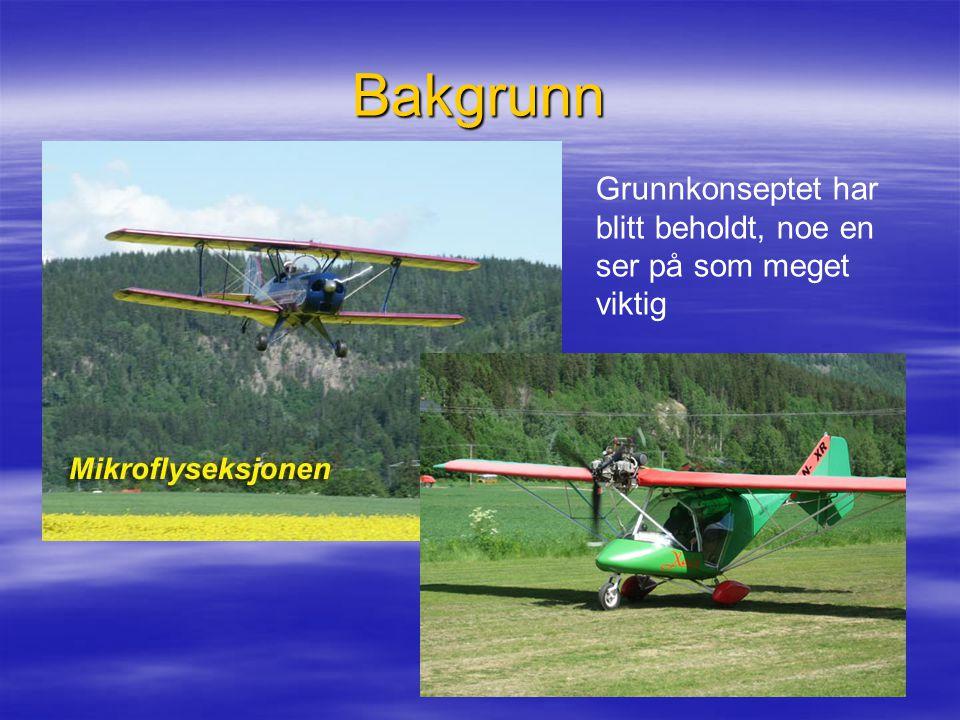 Bakgrunn Flyene fikk 4-taktsmotorer og ble bygget sterkere og sikrere.