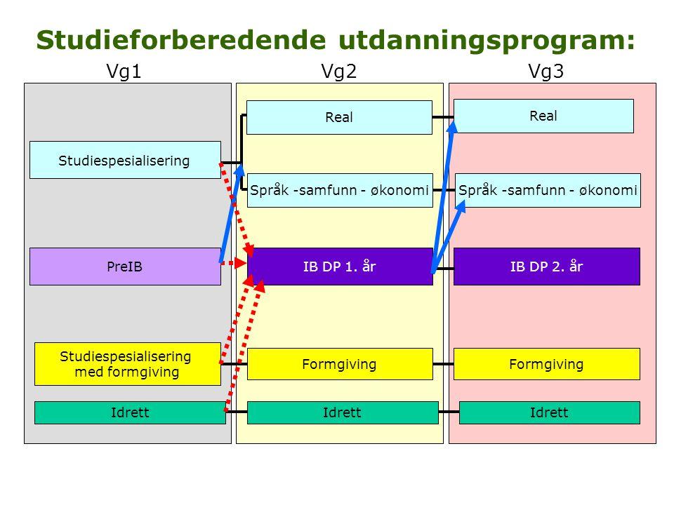 Programområde for realfag FagområderProgramfagenheter (5 t/u) MatematikkMatematikk R1 (bygger på Matematikk Vg1 1T) Matematikk R2 (bygger på Matematikk R1) Matematikk S1 (bygger på Matematikk Vg1 1T) Matematikk S2 (bygger på Matematikk S1) FysikkFysikk 1 Fysikk 2 (bygger på Fysikk 1) KjemiKjemi 1 Kjemi 2 (bygger på Kjemi 1) BiologiBiologi 1 Biologi 2 InformasjonsteknologiInformasjonsteknologi 1 Informasjonsteknologi 2 GeofagGeofag 1 Geofag 2 Teknologi og forskningslæreTeknologi og forskningslære X (NB.