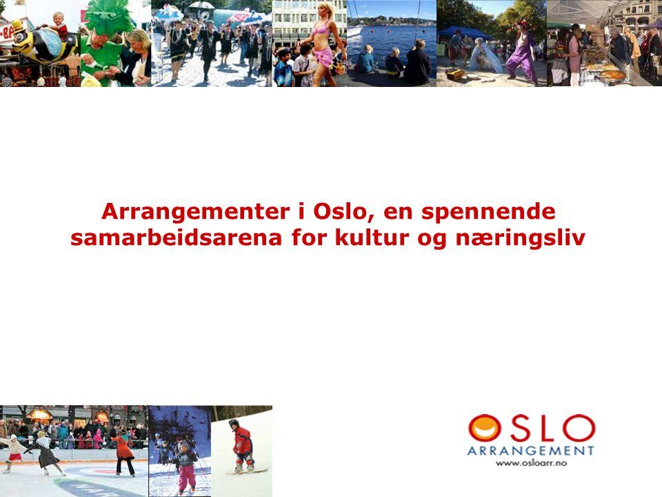 Arrangementer i Oslo, en spennende samarbeidsarena for kultur og næringsliv