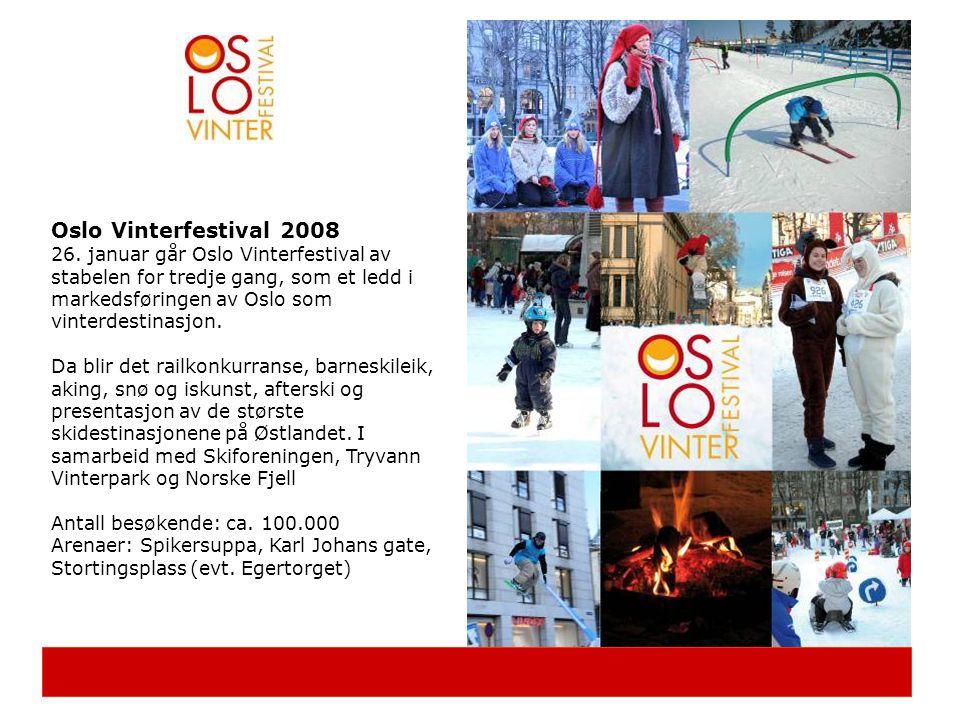 Oslo Sommerfestival 2008 Festivalen vil gå over perioden 6.– 15.juni.