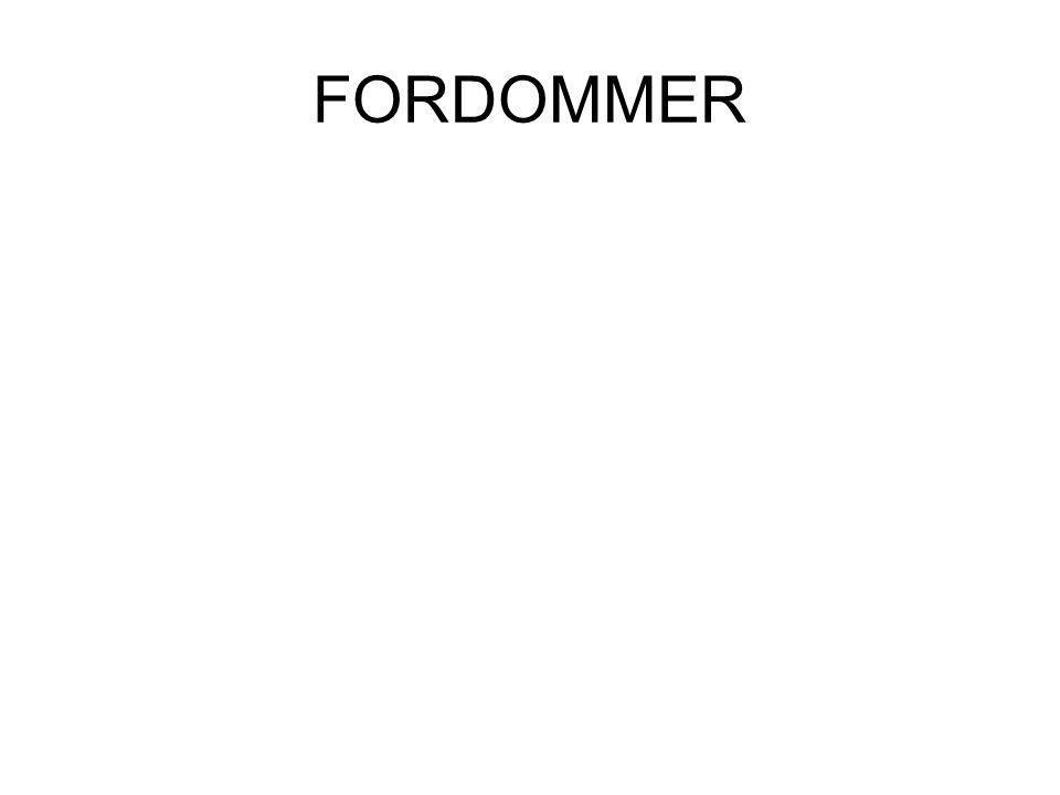 FORDOMMER
