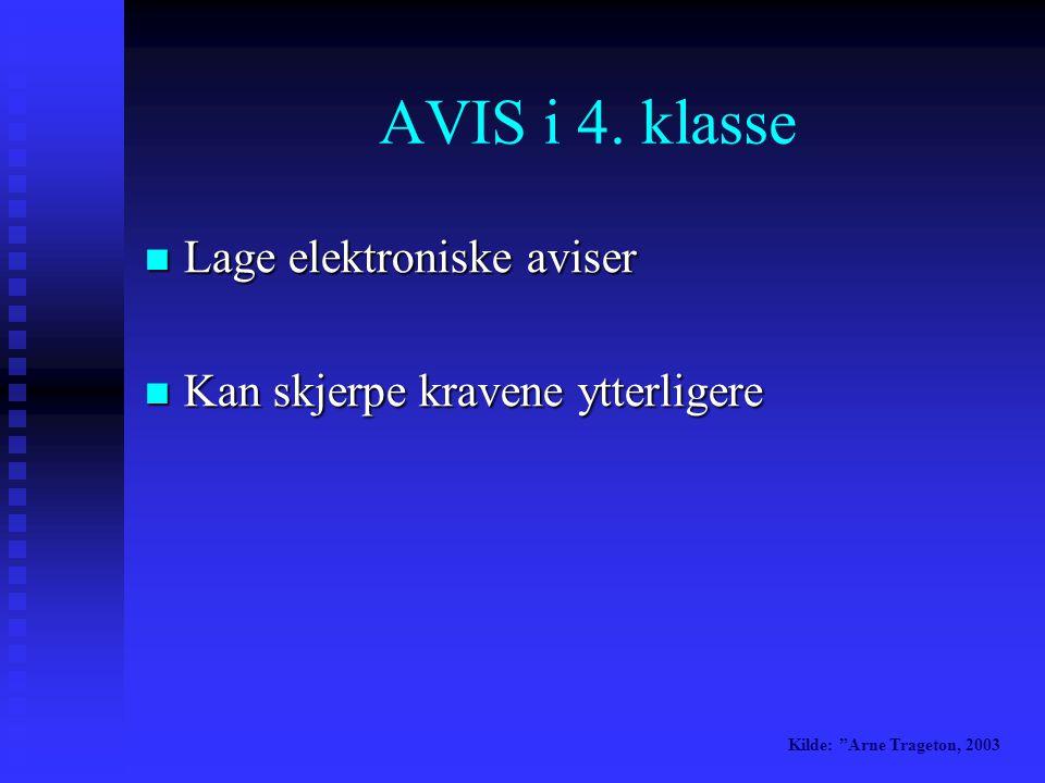 AVIS i 4.