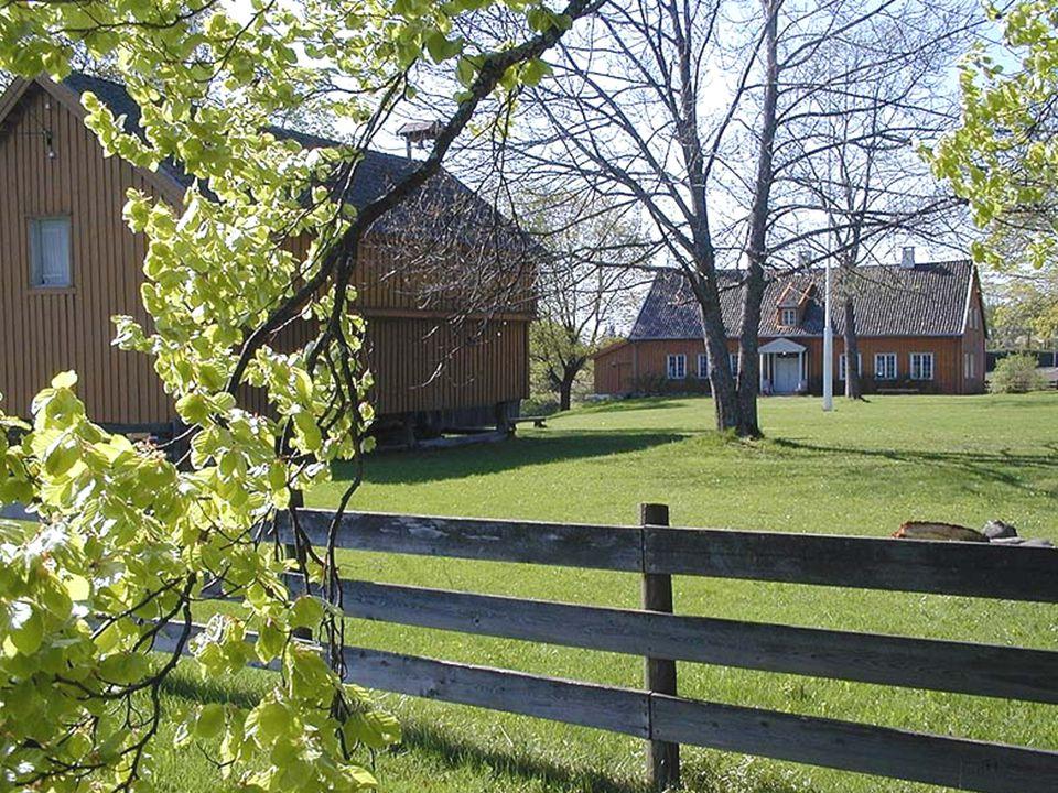 Huseby gård (Skedsmo bygdemuseum) En kort rundtur utvendig og innvendig