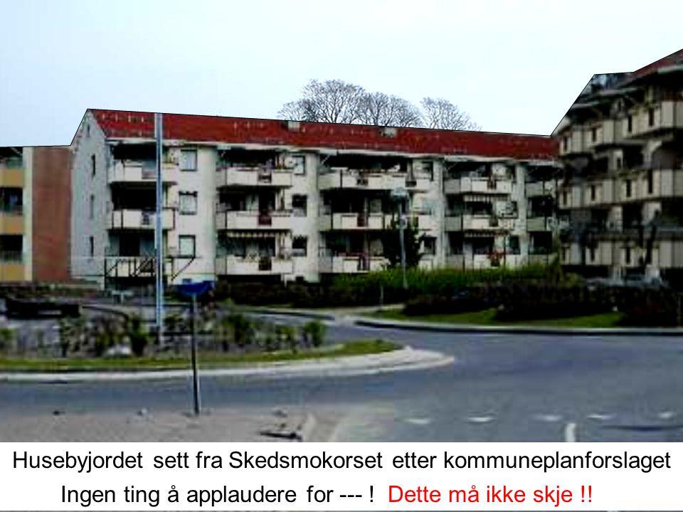 I en årrekke har Skedsmo kommune villet selge Husebyjordet til utbyggere for blokkbebyggelse Stadig nye forslag og utredninger om utbygging er blitt l