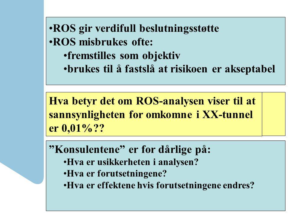 """""""Alt henger sammen med alt"""" Samarbeid i arbeidet med ROS-analyser"""