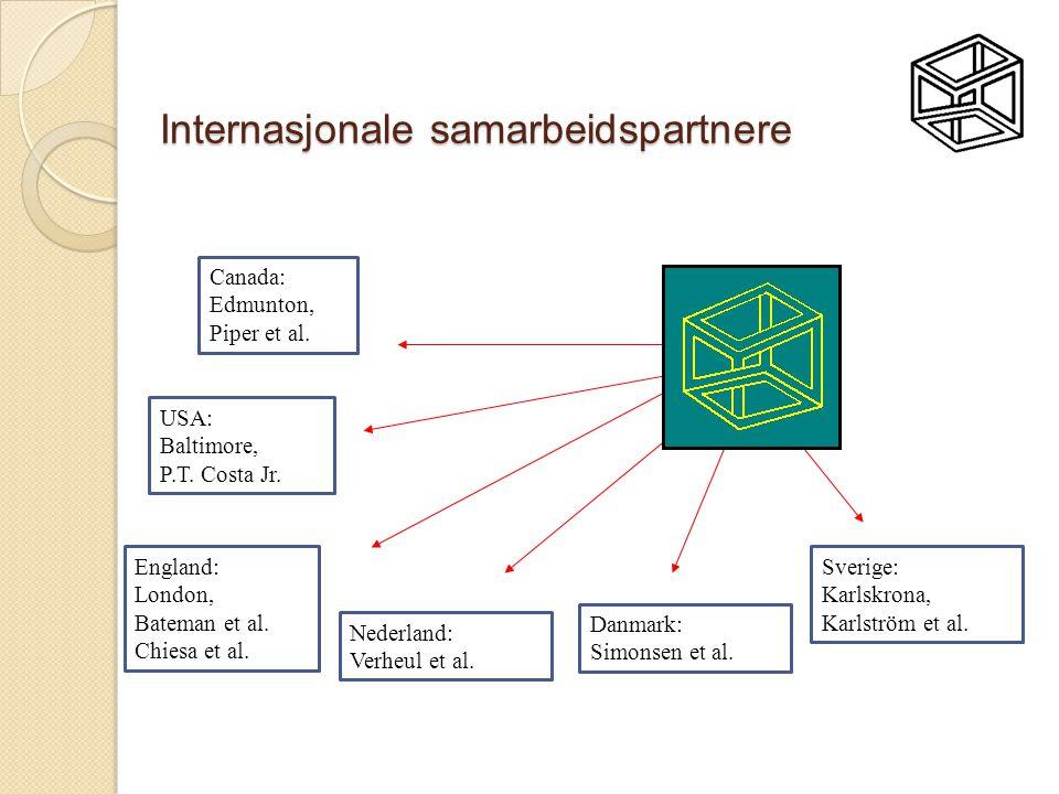 Internasjonale samarbeidspartnere Canada: Edmunton, Piper et al.