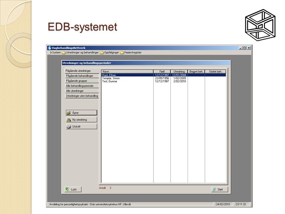 EDB-systemet