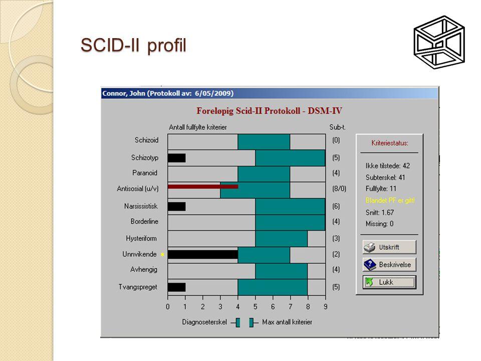 SCID-II profil
