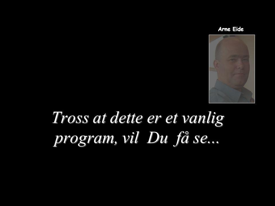 … en illusjon av Arne Eide Arne Eide