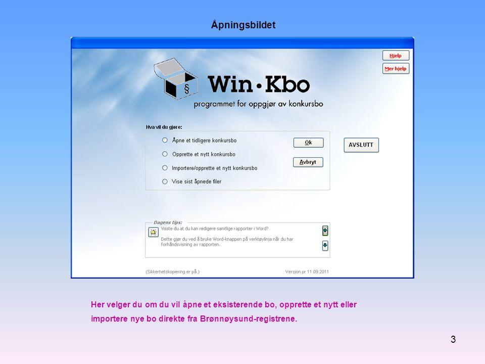 4 Programmet følger Windows-standarden for åpning av filer