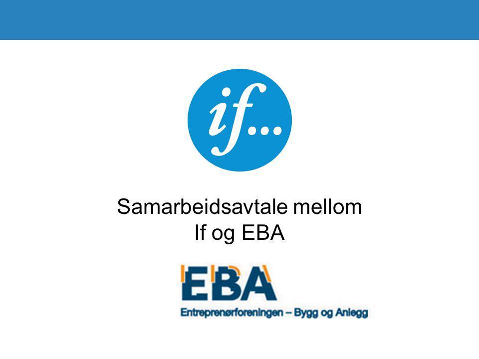 Samarbeidsavtale mellom If og EBA