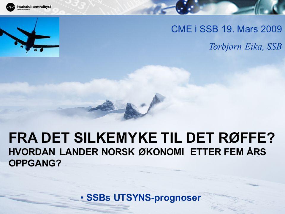 32 Source: Norges Banks prognose vs. markedet