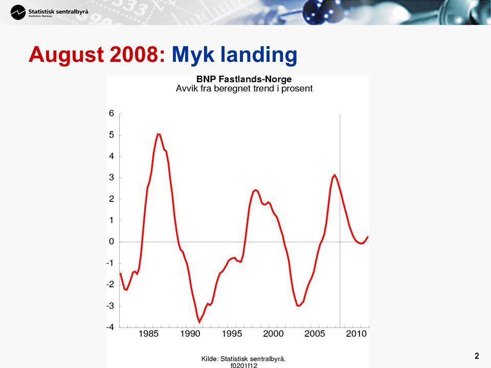 2 August 2008: Myk landing