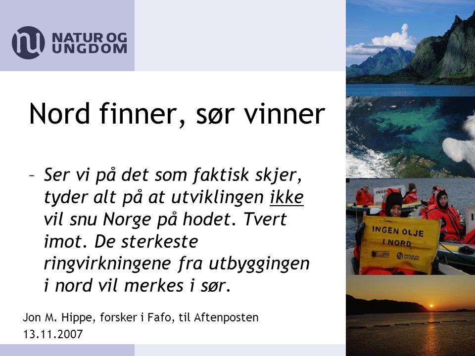 Nord finner, sør vinner –Ser vi på det som faktisk skjer, tyder alt på at utviklingen ikke vil snu Norge på hodet.