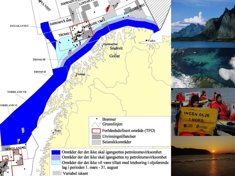 Ny kunnskap •Områdene er fremdeles særlig sårbare og verdifulle •Funnet nye korallrev •Sjøfuglbestandene går ned •Uenighet om risikovurderinger