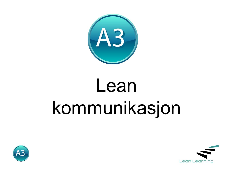 Lean kommunikasjon