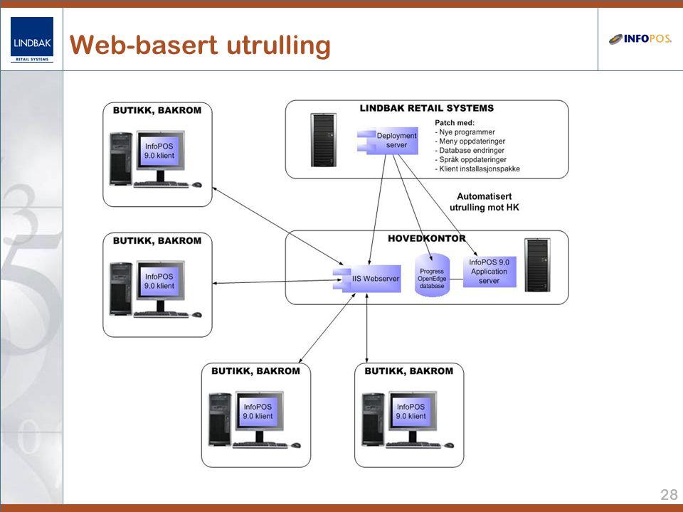 28 Web-basert utrulling