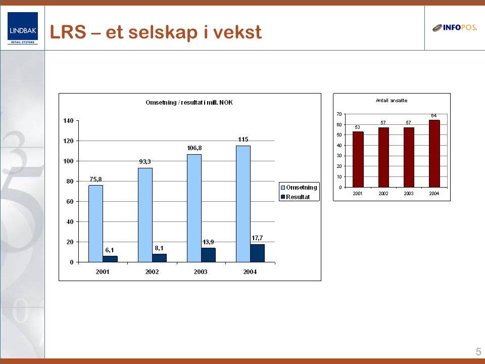 5 LRS – et selskap i vekst