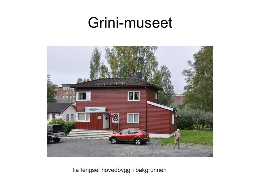 Grini-museet Ila fengsel hovedbygg i bakgrunnen