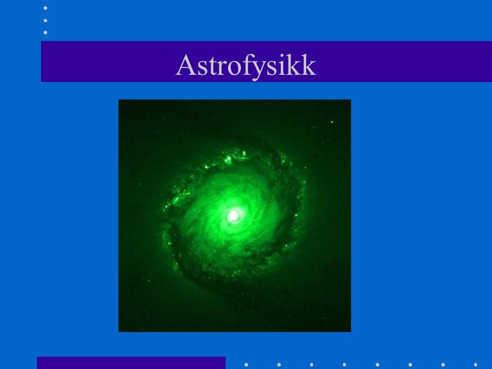 Mer om galaksehoper •Finnes flere tusen galaksehoper •Antall galakser er flere milliarder •De som ligger lengst vekk er 10 -15 milliarder lysår borte.
