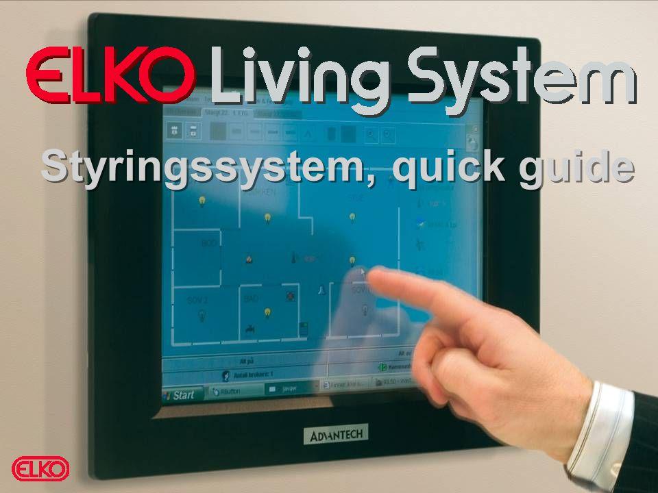 Sendere Bryterpanel 4 kanal  Monteres direkte på vegg eller i standard veggboks  ELKO Plus design i fargene PH, ALU, SO Fjernkontroll  Fjernbetjening 8 kanaler  Leveres med symbol knapper Wireless produkter i ELKO LS: