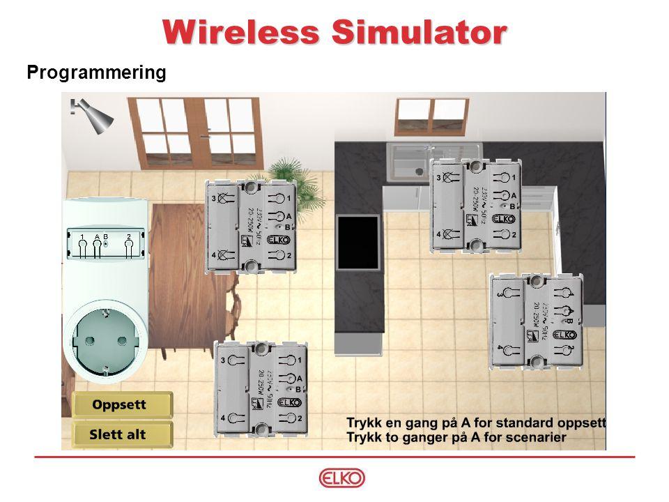 Wireless Simulator Programmering