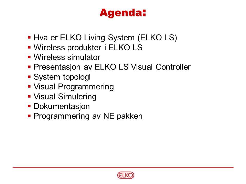 Presentasjon av system Eksempel Tradisjonell løsning: Trådløst - Wireless