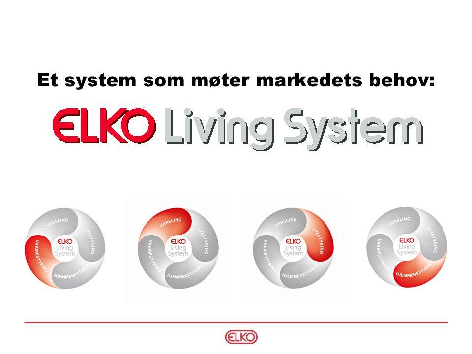 Presentasjon av system  Fordeler for kunden og el-bransjen:  Rehabilitering uten ekstraarbeid med nye kabelføringsveier.