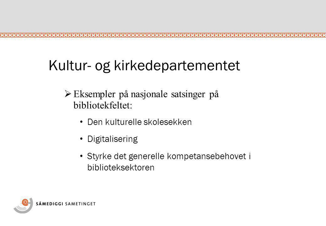 Sametingets bibliotek skal være:  Et kompetansesenter for samisk litteratur og samisk bibliotektjeneste  En aktiv formidler av samisk litteratur og kultur  Et forvaltningsbibliotek for ansatte og politikere