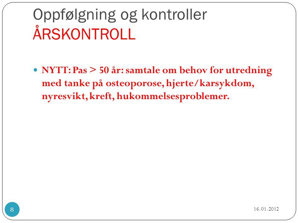 Norske anbefalinger ASYMPTOMATISK  NYTT: CD4 tall < 350: ART skal som hovedregel iverksettes uavhengig av klinisk situasjon  Uendret i praksis, men tydeligere:CD4 350-500: vurder ART.