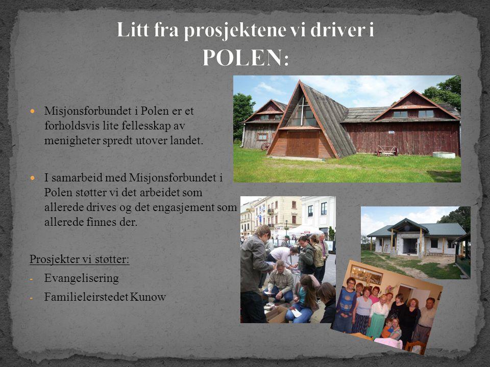  Misjonsforbundet i Polen er et forholdsvis lite fellesskap av menigheter spredt utover landet.